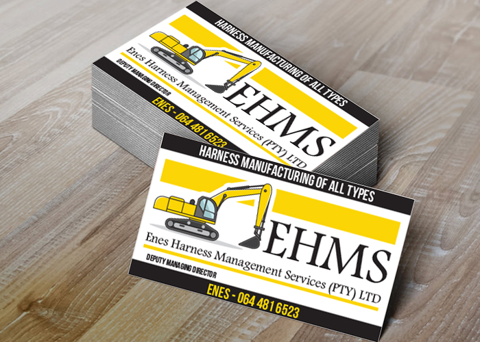 Enes-Harness--business-card-front large